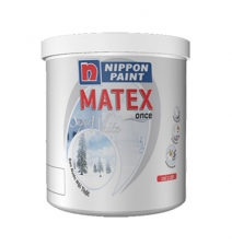 Sơn Nippon Matex super white 18L